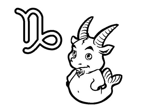 capricorn color capricorn signs coloring pages coloring coloring pages