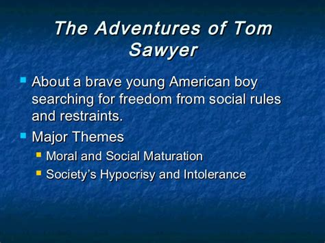 social themes in huckleberry finn american individualism
