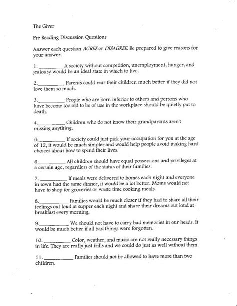 The Giver Essay Questions by Essay Questions For The Giver The Giver Essay Topics The