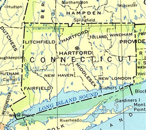 us map connecticut outdoor 187 connecticut