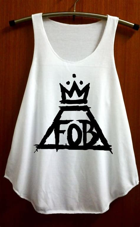 Boogybaby Sleeveless Boy 12 18 fob fall out boy shirt symbol shirt tank top vest