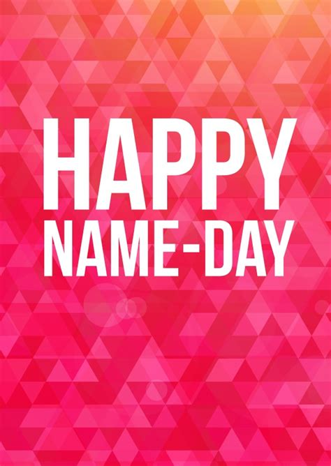 day names happy name day congratulations send real postcards