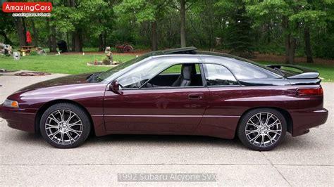 how does cars work 1993 subaru alcyone svx user handbook 1992 subaru alcyone svx youtube