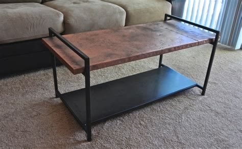 how to clean hammered copper table top hammered copper top coffee table coffee tables omaha