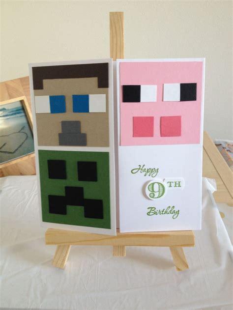best 25 minecraft birthday card ideas on pinterest minecraft party bags mind craft