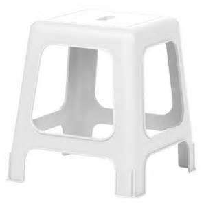 tabouret de plastique allibert