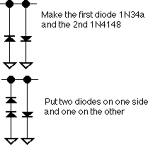 silicon and germanium diodes in parallel mods html