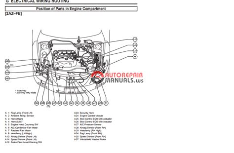 toyota camry  ewd electrical wiring diagram auto