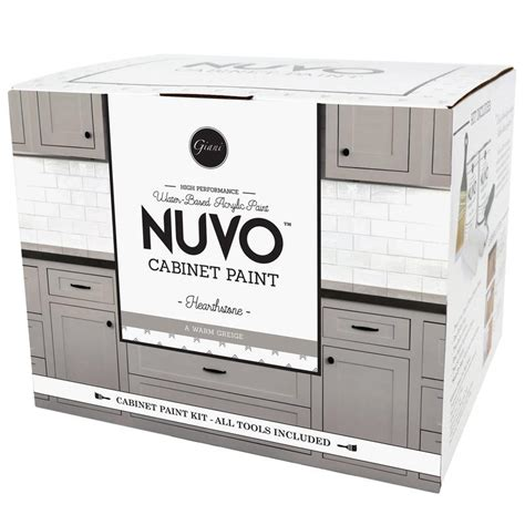 nuvo cabinet paint sles nuvo coconut espresso cabinet paint kit giani inc