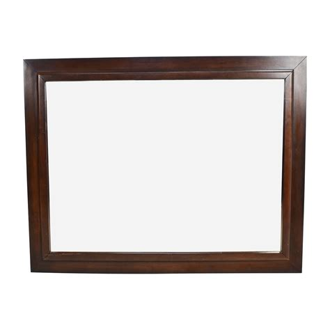 Wood Framed Wall 80 large square wood framed wall mirror decor