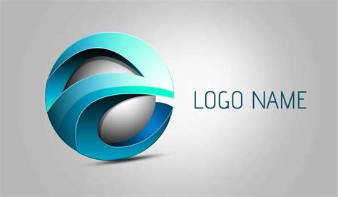 logo design via photoshop photoshop tutorial 3d logo design element youtube