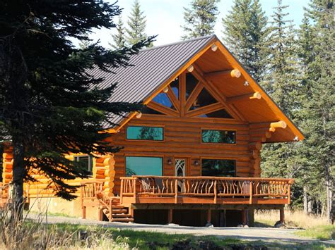vacation log homes