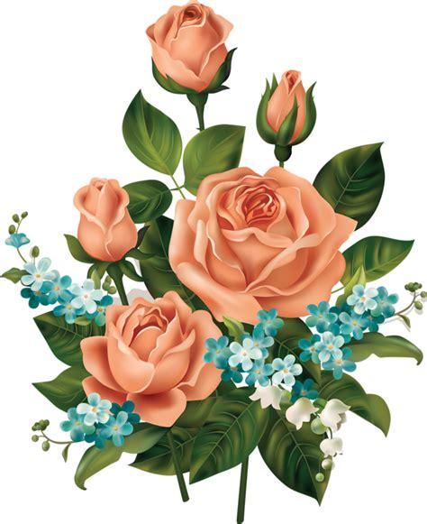 gambar bunga png flower vintage frame