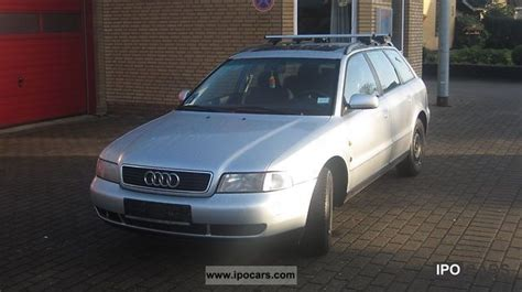 Audi A4 Avant 1997 by 1997 Audi A4 Avant 1 6 Car Photo And Specs