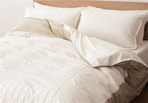 Yamuna Ivory Cotton Duvet Covers Natural Bed Company Bed Duvet Covers