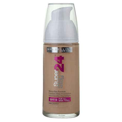 Maybelline Liquid Foundation maybelline superstay 24 color liquid foundation notino co uk