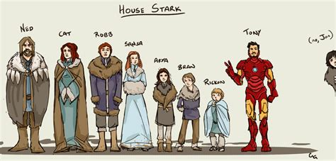 House Stark, Plus Tony   We Know Awesome