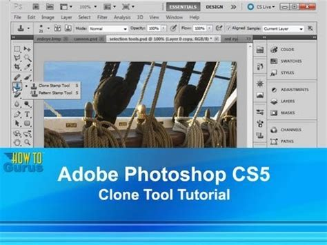 adobe photoshop tutorial using clone st tool adobe photoshop cs5 clone tool tutorial how to use