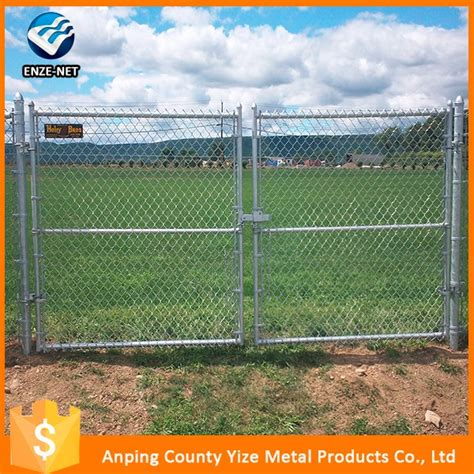 chain link swing gate chain link fence double swing gate buy chain link fence