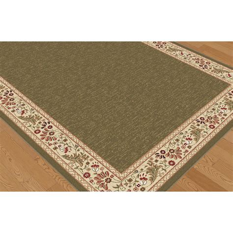Area Rug Green Threadbind Richmond Green Area Rug Reviews Wayfair