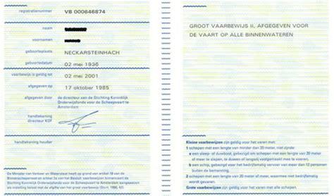 vaarbewijs dienstboekje centrale commissie voor de rijnvaart bemanning en