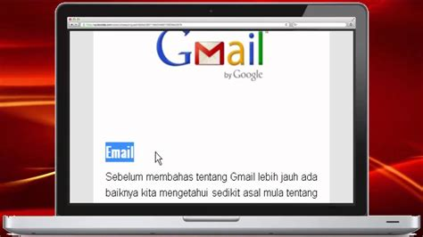 email youtube indonesia apa itu email youtube