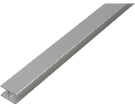 aluminium bootramen h profil aluminium 12 9x24x1 5 mm 2 m bei hornbach kaufen