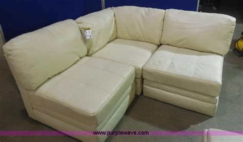 white leather sofa ashley furniture ashley furniture white leather sectional no reserve