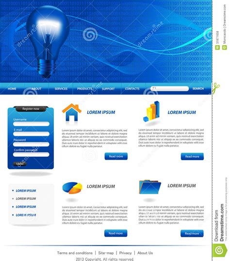 website templates for export business business website templates stock vector image of design