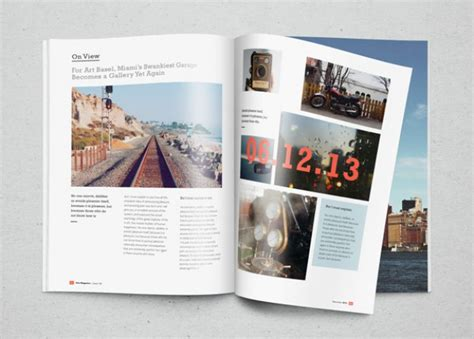 photoshop magazine template magazine mockup with photos psd file free