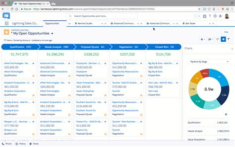 Reports And Dashboards In Salesforce Workbook by Ambition 10 To Adopting Salesforce Lightning
