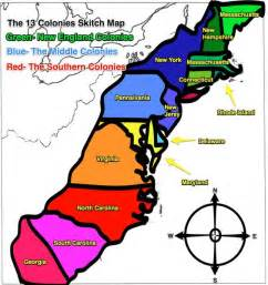13 colonies map original 13 colonies blank map