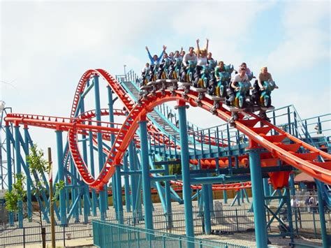 the roller coaster at flambards theme park near helston four great alternative theme parks for family cing