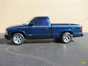 2000 indigo blue metallic chevrolet s10 ls regular cab