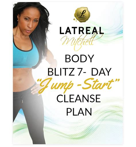 Flush Out Jump Start Detox Drink Reviews by Blitz 7 Day Cleanse Latreal 7 Day Jump Start