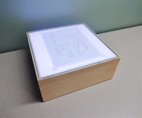 how to make an led light box 11