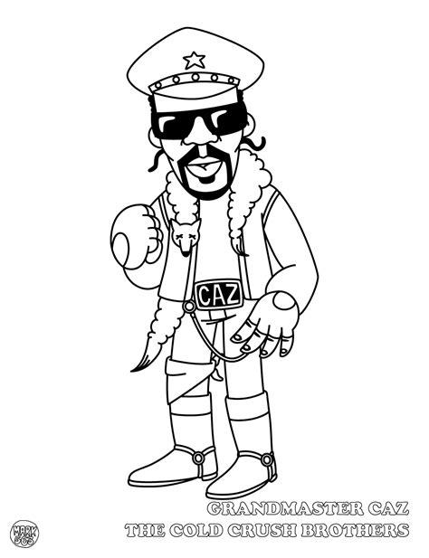 Hiphop Thegoldenera Mark 563 Presents Hip Hop Coloring Hip Hop Coloring Book