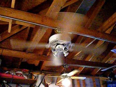 casablanca delta ii ceiling fan 4 blades youtube