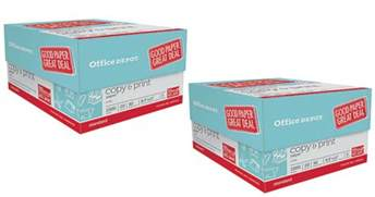 Office Depot Paper by Office Depot Officemax Copy Print Paper 3 Ream