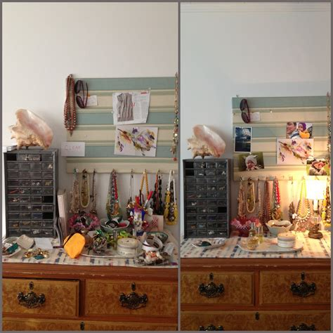 Top Of Dresser Organization by Tiptoethrough Before And After Organizing Jewelry And