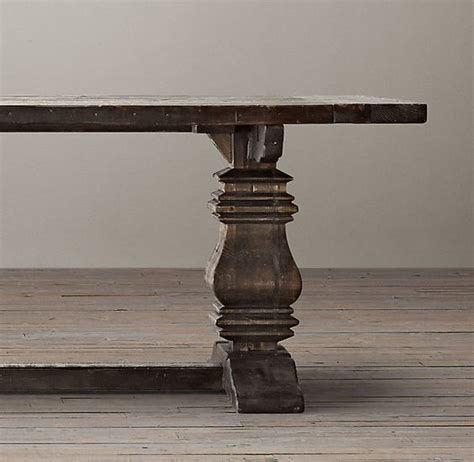 Salvaged Wood Trestle Extension Dining Tables Extension Dining Table Salvaged Wood And Extensions On Pinterest