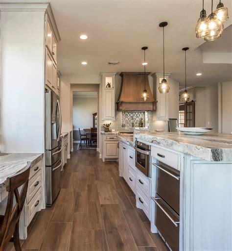 transitional modern farmhouse kitchen design home bunch
