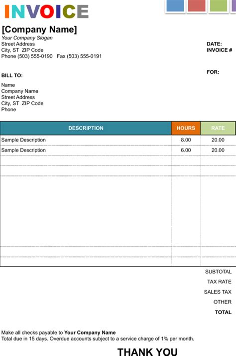 Download House Painting Invoice Template For Free Formtemplate House Painting Invoice Template