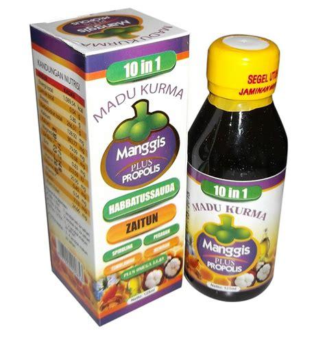 madu kurma manggis plus propolis 10 in 1 obat herbal obat herbal
