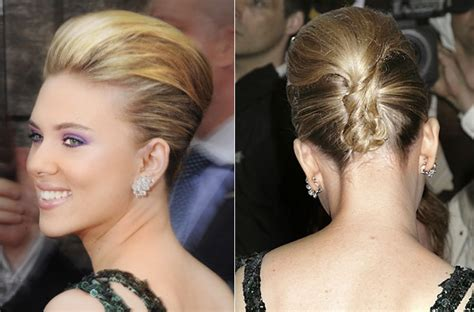 modern french twist how to penteados red carpet wishes eventos