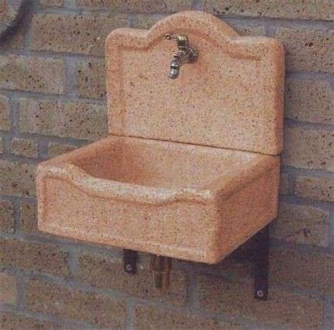lavabi da giardino lavandini in pietra da giardino foto design mag