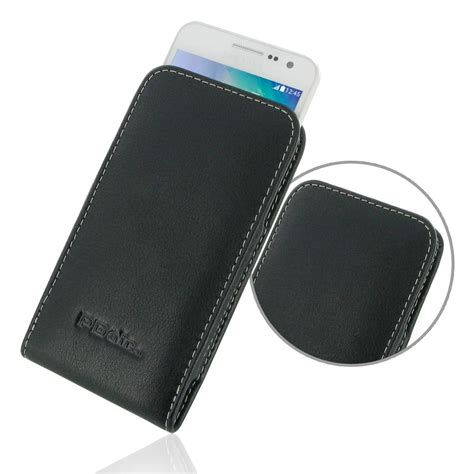 Leather Samsung Galaxy A3 samsung galaxy a3 leather sleeve pouch pdair sleeve holster