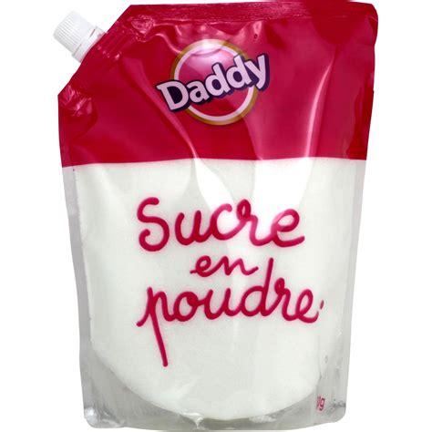 Sucre en poudre Daddy Daddy le sachet de 750 g Vos courses en ligne avec Carrefour Drive
