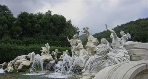 i giardini di adone fontana di venere e adone nel parco della reggia di caserta