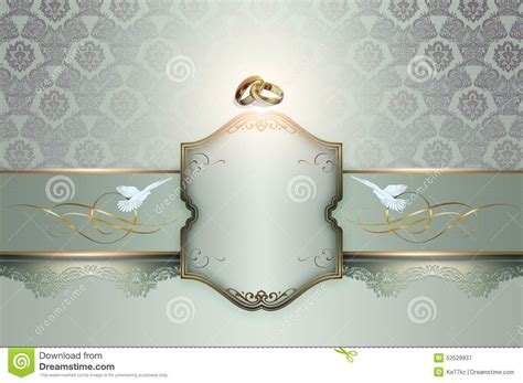 Background For Wedding Tarpaulin by Wedding Invitation Template Stock Illustration Image